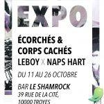 Exposition: Écorchés & Corps Cachés - LeBoy x NapsHart
