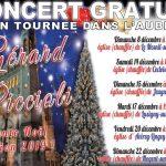Concert: Gérard Piccioli chante Noel