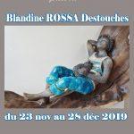 Exposition des sculptures de Blandine ROSSA Destouches
