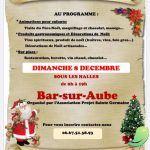 Marché de Noel Bar sur Aube