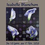 EXPOSITION des peintures d'ISABELLE BLANCHON