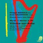 Concert de Poche //Ohilippe Bernold, Anaïs Gaudemard
