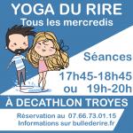 Yoga du rire Troyes Décathlon
