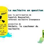 Ciné débat : Déchets, le cauchemar du nucléaire