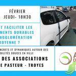 Conférence: Comment faciliter les mobilités durables dans l'agglo troyenne ?