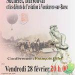 Conférence: Les débuts de l'aviation à Vendeuvre