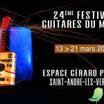 24ème Festival Guitares du monde