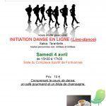 Initiation danse en ligne