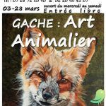 Exposition: gache, Art animalier