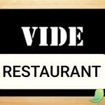 Vide restaurant