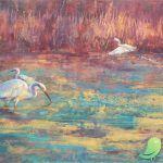 Expositions de peintures (médiathèque)