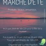 Marché nocturnes d'été Mesnil Saint Père
