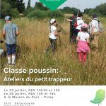 Classe Poussin : Ateliers petit trappeur