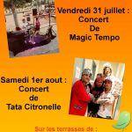 Concerts Port Dienville