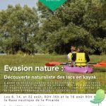 Evasion nature : Découverte de la nature sur les lacs