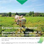 Evasion nature et terroir : Découverte de la vallée de la Barse et de son terroir fermier
