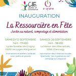 Inauguration La Ressourcière