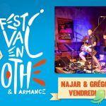 Festival en Othe: Najar & Gregory Jolivet [Musiques traditionnelles et modernes]
