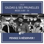 Concert avec Gildas et ses prunelles au Lapin Bleu