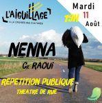 NENNA - Cie Raoui - Répétition publique