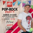 RTL 2 Pop-Rock Party by Loran. En Direct du MBeach !
