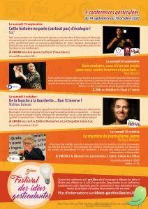 flyer conferences gesticulantes 2020 Programme