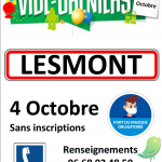 Vide grenier Lesmont