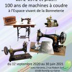 Exposition: 100 ans et plus de la machine à coudre...