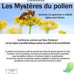 Conférence: Les mystères du Pollen