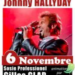 Soirée sosie Johnny HALLYDAY