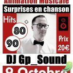 Soirée musicale avec DJ Gp_Sound