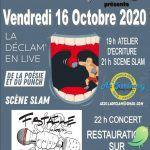 SLAM avec La Déclam+Concert FMIT