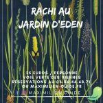 RACHI au jardin d'Eden