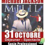 """Déjeuner - spectacle exceptionnel """"Michael JACKSON"""""""