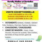 Braderie Romilly Mailles et Dentelles