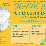 Porte ouverte virtuelle Lycée Jeanne Mance