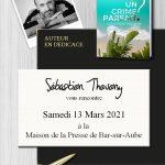 Séance de Dédicaces avec Sébastien Theveny