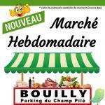 Marché à Bouilly