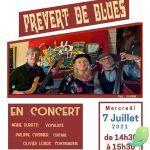 """Concert """"Prévert de Blues"""""""
