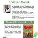 Matinée DÉDICACES: Christian Moriat
