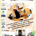 Concert: heures musicales autour de l'Orgue