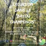 """Excursion kayak dans le """"Bayou champenois"""""""