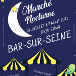 Marché Nocturne Bar/Seine