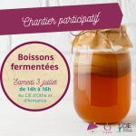 Chantier participatif : Boissons fermentées