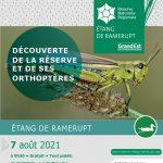 Découverte de la réserve et de ses orthoptères