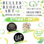 Bulles Reggae Art #2 au Champagne Gilles Virey