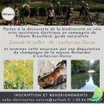 Excursion nature et Champagne à vélo...