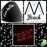 Fête de la Musique au MBeach avec les Initiés !