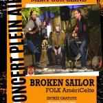 Concert Folk AmériCelte avec Broken sailor