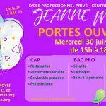 Porte ouverte lycée Jeanne Mance